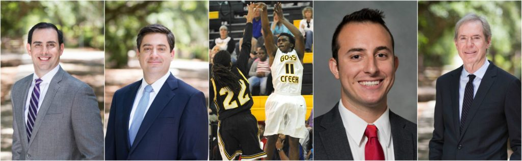 Steinberg Law Firm Support Community Goose Creek High School Basketball