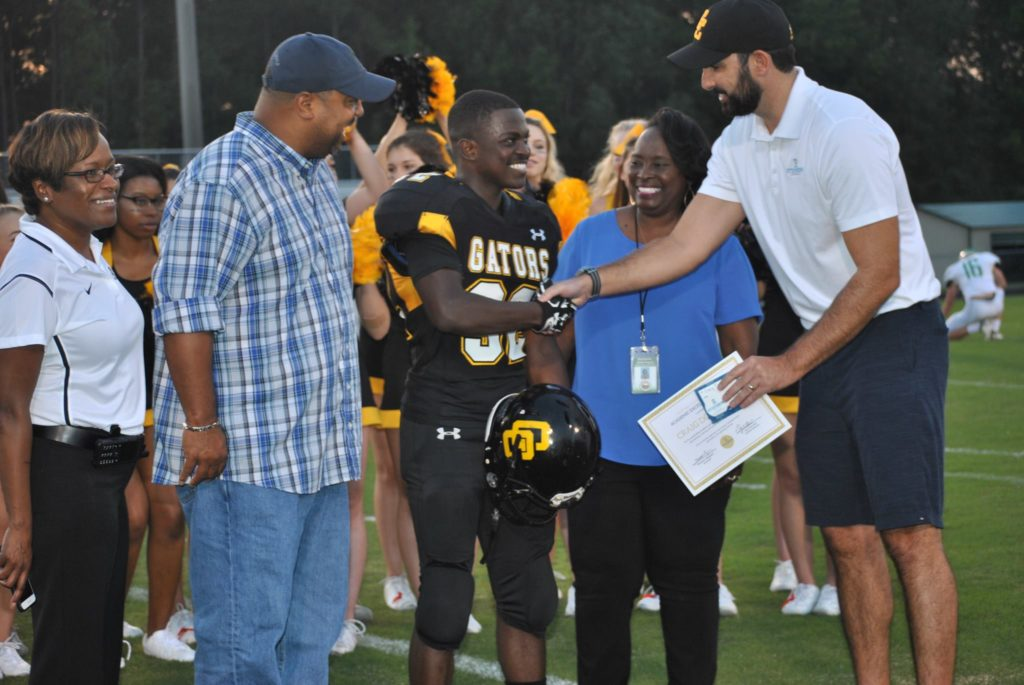 Steinberg Attorney Congratulates Goose Creek Student-Athlete