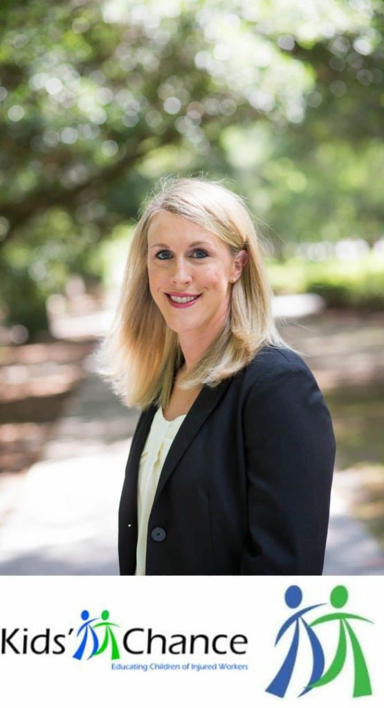 Steinberg Attorney Catie Meehan Serves on the Board of Directors for Kids Chance of South Carolina