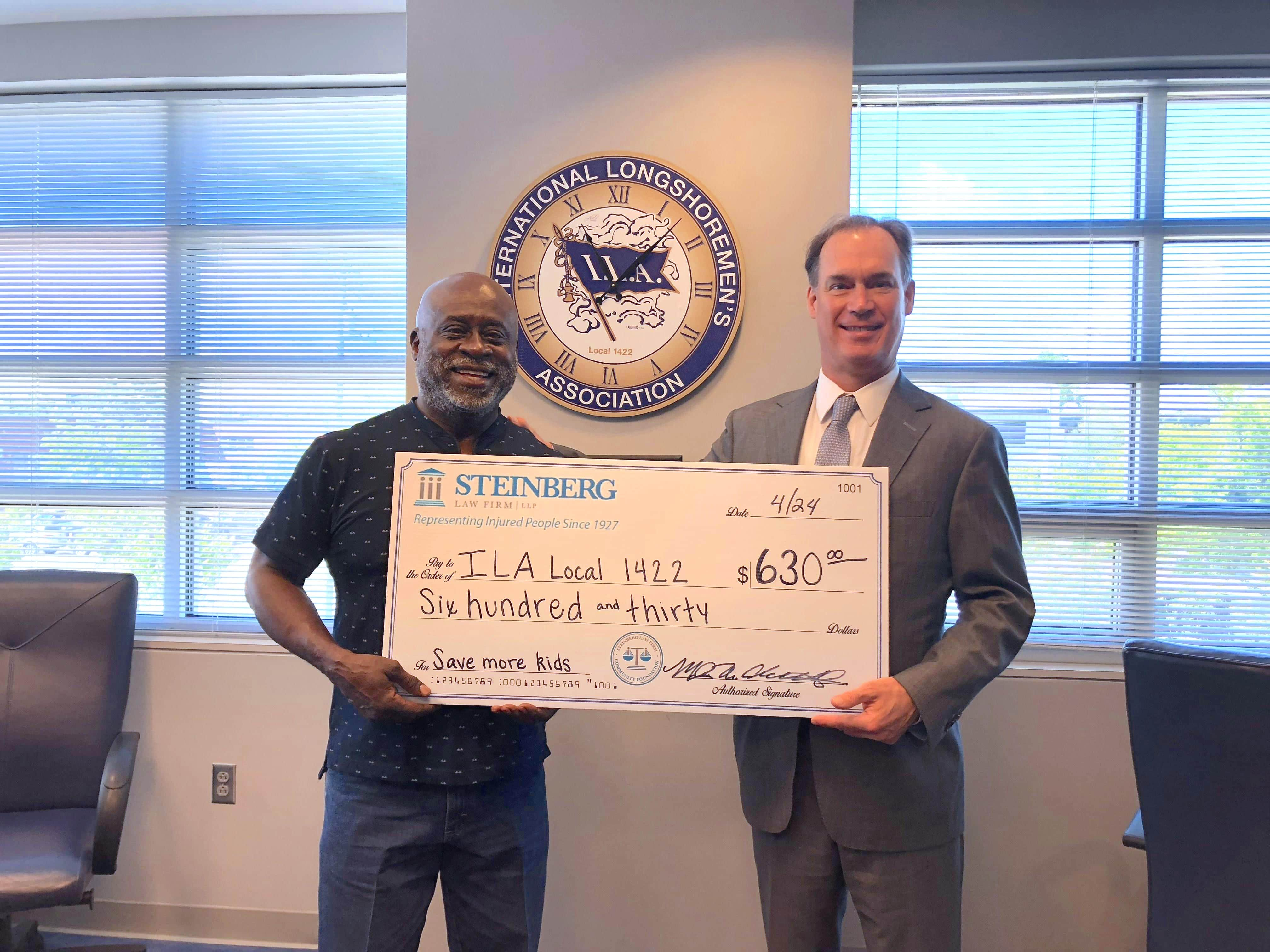 Steinberg Law Firms Supports Save More Kids Drive in Liberia