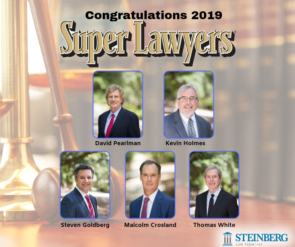 Steinberg Law Firm Attorneys Named to the 2019 South Carolina Super Lawyers List