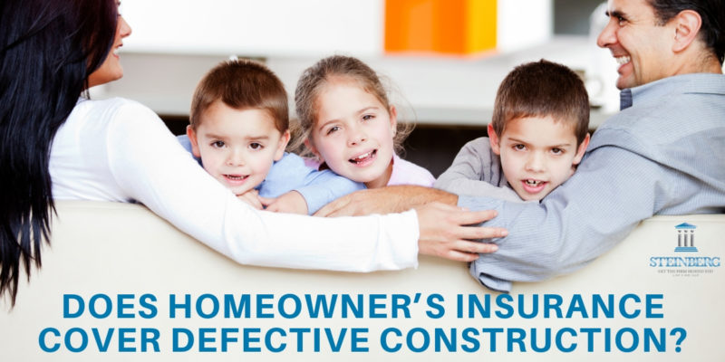 Steinberg Law Firm Construction Defect Attorney