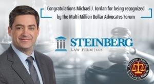 Attorney Michael J. Jordan Named to Million Dollar Advocates Forum