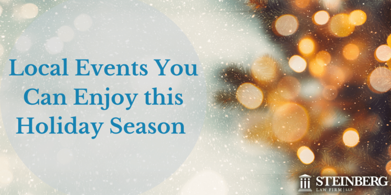 Local Events You Can Enjoy This Holiday Season