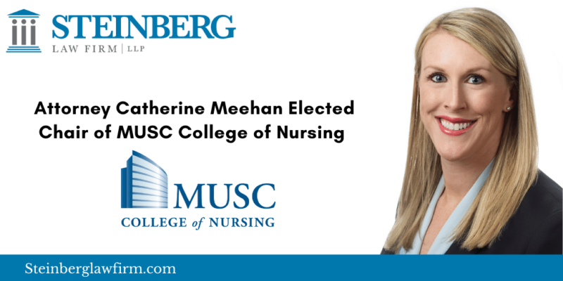Attorney Catherine Meehan Joins MUSC College of Nursing Board of Directors
