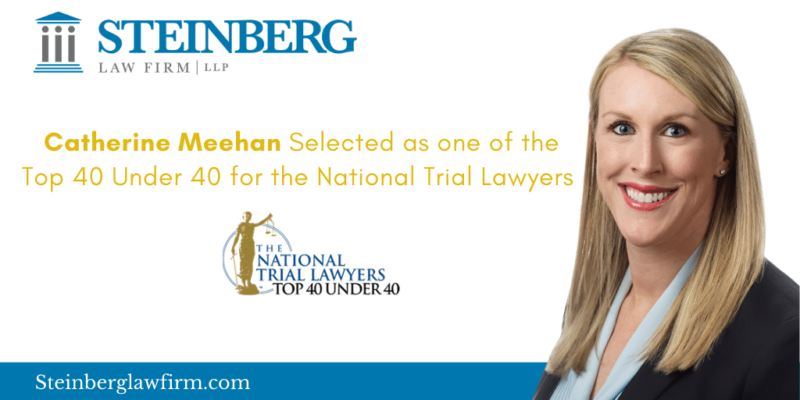 Catherine Meehan named Top 40 Under 40 for the National Trial Lawyers