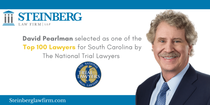 David Pearlman Named to Top 100 National Civil Plaintiff Trial Lawyers